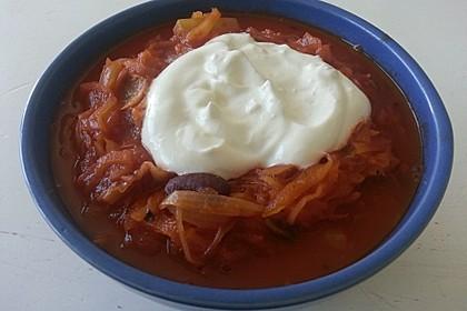 Feuriger Sauerkraut - Eintopf 5