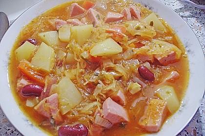 Feuriger Sauerkraut - Eintopf 24