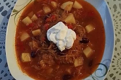 Feuriger Sauerkraut - Eintopf 7