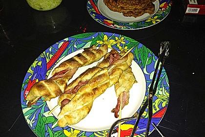 Gegrillte Teigspieße mit Bacon und Knoblauch 42