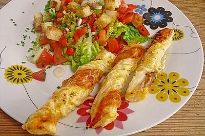 Käsestangen aus Blätterteig 4
