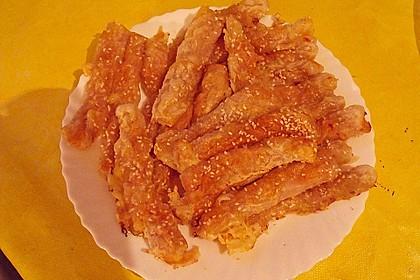 Käsestangen aus Blätterteig 39