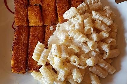 Nudeln mit Fischstäbchen à la Marie 1