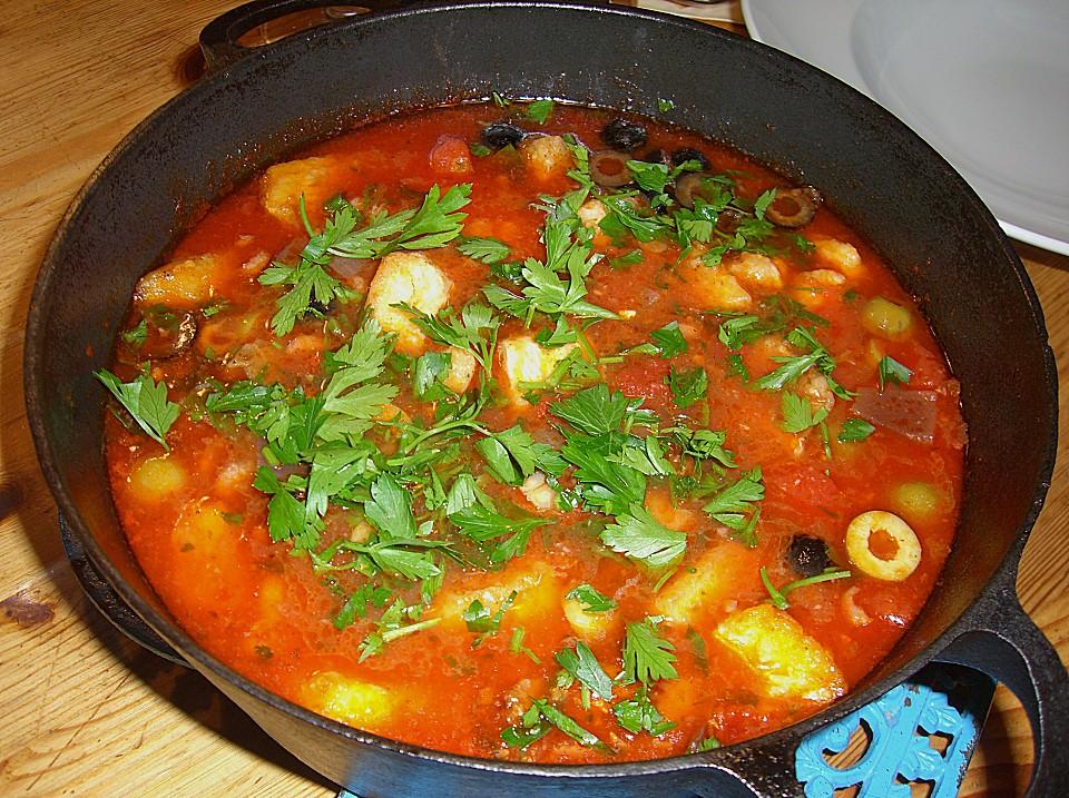 Mediterrane Fischsuppe