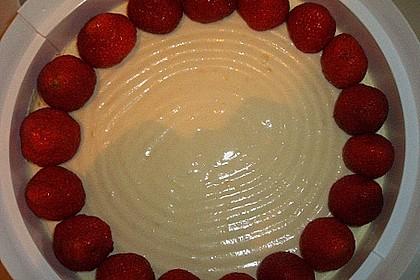 Erdbeerkuchen mit Vanillecreme 120