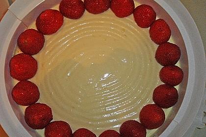 Erdbeerkuchen mit Vanillecreme 93