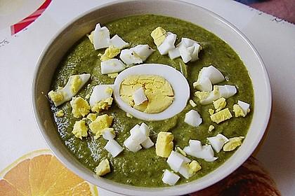 Spinat - Erbsen - Cremesuppe 10