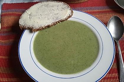 Spinat - Erbsen - Cremesuppe 14