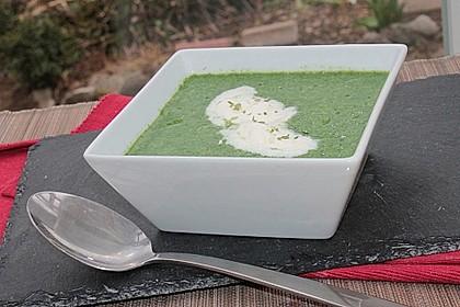 Spinat - Erbsen - Cremesuppe 12