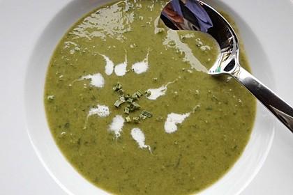 Spinat - Erbsen - Cremesuppe 8