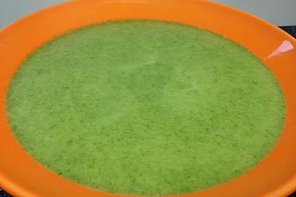 Spinat - Erbsen - Cremesuppe 15
