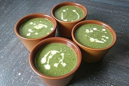 Spinat - Erbsen - Cremesuppe 5