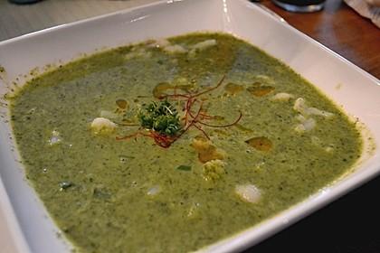 Spinat - Erbsen - Cremesuppe 13