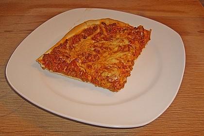 BBQ Pizza, rauchig