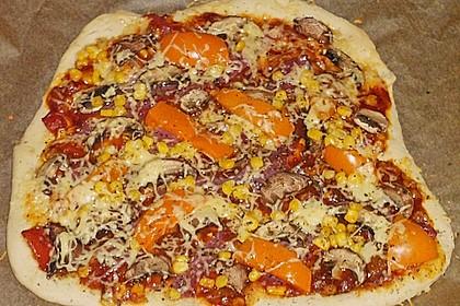 BBQ Pizza, rauchig 2