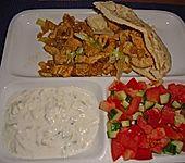 Hähnchen-Pita (Bild)