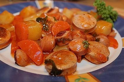 Würstchen - Gulasch