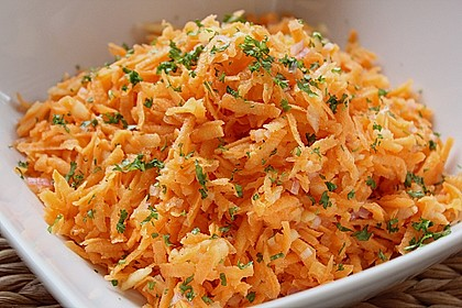 Der leckerste Karottensalat