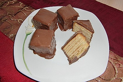 Baumkuchen - Würfel 1