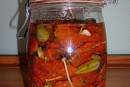 Getrocknete Tomaten pikant eingelegt 1