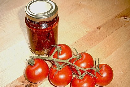 Getrocknete Tomaten pikant eingelegt 8