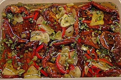 Getrocknete Tomaten pikant eingelegt 3