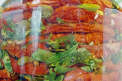 Getrocknete Tomaten pikant eingelegt 7