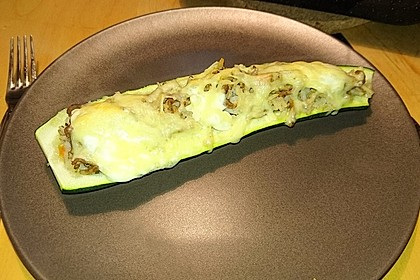 Zucchini mit Hackfleisch - Reis - Füllung 33