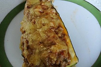 Zucchini mit Hackfleisch - Reis - Füllung 36
