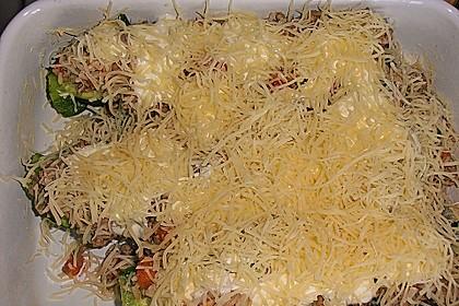 Zucchini mit Hackfleisch - Reis - Füllung 34