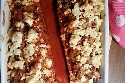 Zucchini mit Hackfleisch - Reis - Füllung 38