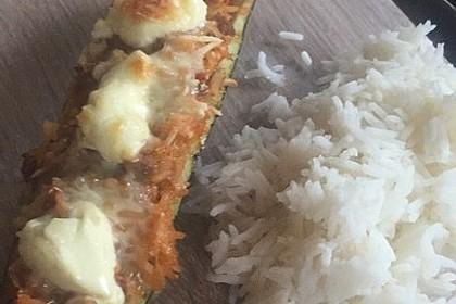 Zucchini mit Hackfleisch - Reis - Füllung 42