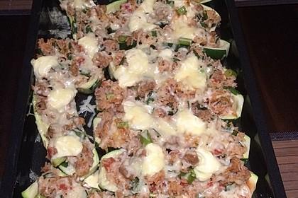 Zucchini mit Hackfleisch - Reis - Füllung 25
