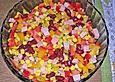 Bohnen - Mais - Salat