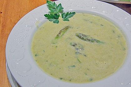 Grüne Spargelsuppe 7