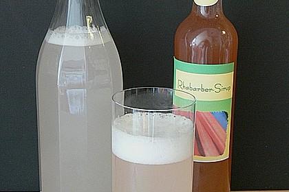 Rhabarber - Sirup 36