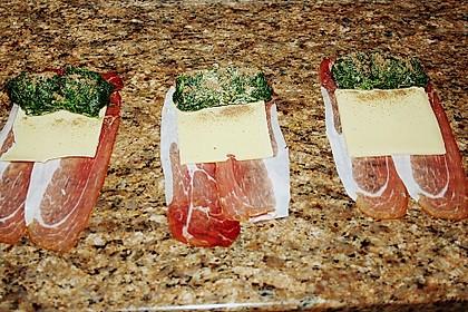 Hähnchenbrust mit Käse - Spinat - Füllung 11