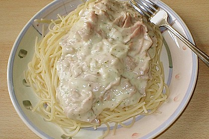 Spaghetti Carbonara light 17