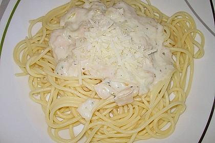 Spaghetti Carbonara light 13