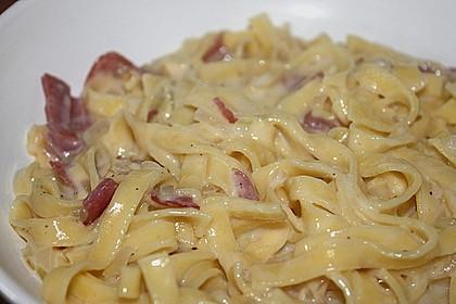 Spaghetti Carbonara light 8