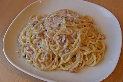 Spaghetti Carbonara light 11