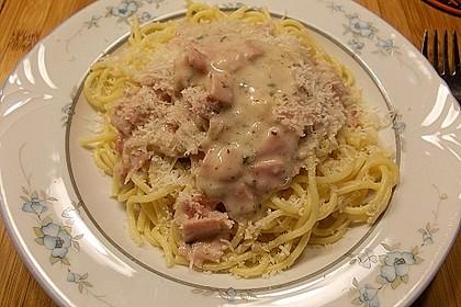 Spaghetti Carbonara light 4