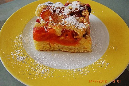 Marillenkuchen am Blech 14