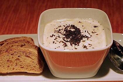 Cappuccino von Sellerie und Perigord - Trüffeln 1