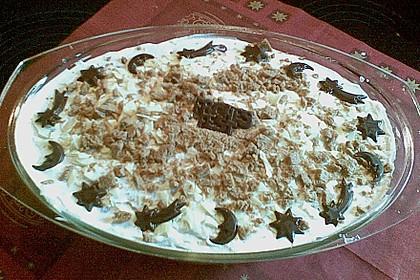 Weihnachtliches Lebkuchen - Schicht - Dessert 8