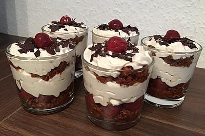 Weihnachtliches Lebkuchen - Schicht - Dessert 10