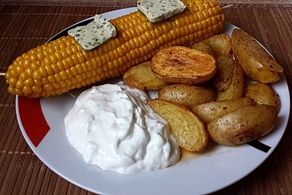 Maiskolben mit Butter 1
