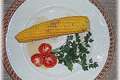 Maiskolben mit Butter 6