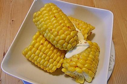 Maiskolben mit Butter 3