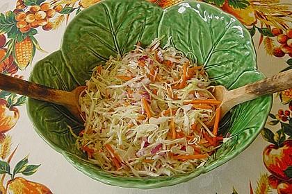 Krautsalat mit Karotten 3